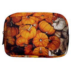 Pile Of Tiny Pumpkins Make Up Pouch (small) by bloomingvinedesign