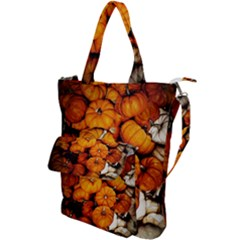 Pile Of Tiny Pumpkins Shoulder Tote Bag by bloomingvinedesign