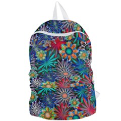 Tropical Daisies Foldable Lightweight Backpack