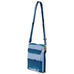 Whales Tail Multi Function Travel Bag by bloomingvinedesign
