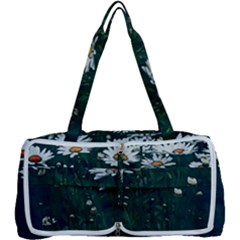 White Daisy Field Multi Function Bag by bloomingvinedesign