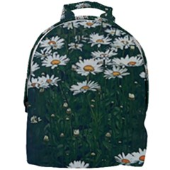 White Daisy Field Mini Full Print Backpack by bloomingvinedesign