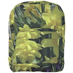 Yellow Daffodils  Full Print Backpack