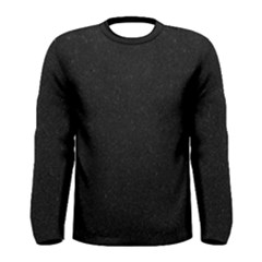 Black Glitter Men s Long Sleeve Tee