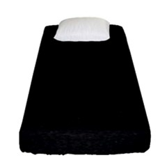 Black Glitter Fitted Sheet (single Size)