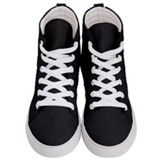 Black Glitter Men s Hi Top Skate Sneakers