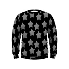 Silver Starr Black Kids  Sweatshirt
