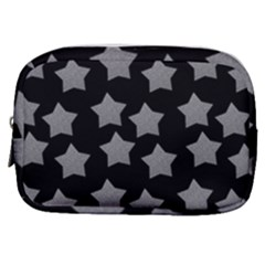 Silver Starr Black Make Up Pouch (small)