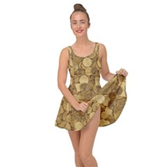 Gold Coins Inside Out Casual Dress
