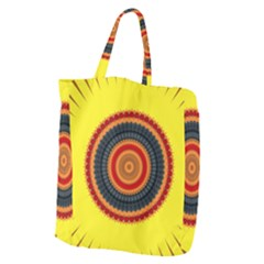 Art Decoration Wallpaper Bright Giant Grocery Tote