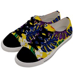 Design Decoration Decor Pattern Men s Low Top Canvas Sneakers by Nexatart