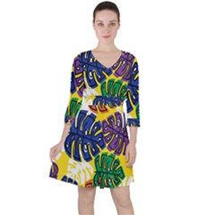 Design Decoration Decor Pattern Ruffle Dress by Nexatart