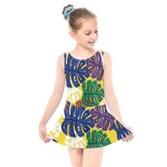 Design Decoration Decor Pattern Kids  Skater Dress Swimsuit