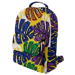 Design Decoration Decor Pattern Flap Pocket Backpack (small)