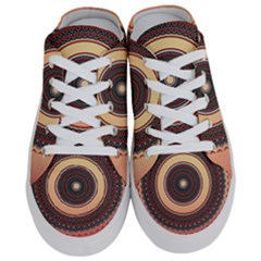 Ornamental Shape Concentric Round Half Slippers by Nexatart