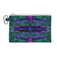 Abstract Pattern Desktop Wallpaper Canvas Cosmetic Bag (large) by Nexatart
