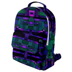 Abstract Pattern Desktop Wallpaper Flap Pocket Backpack (small)