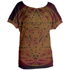 Beautiful Art Pattern Women s Oversized Tee by Nexatart