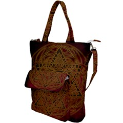 Beautiful Art Pattern Shoulder Tote Bag