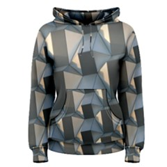 3d Pattern Texture Form Background Women s Pullover Hoodie