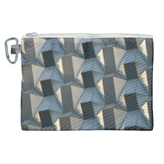 3d Pattern Texture Form Background Canvas Cosmetic Bag (xl)