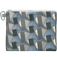 3d Pattern Texture Form Background Canvas Cosmetic Bag (xxxl)