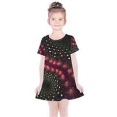 Background Texture Pattern Kids  Simple Cotton Dress