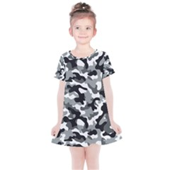 Camouflage 02 Kids  Simple Cotton Dress by quinncafe82