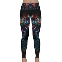 Background Texture Pattern Lightweight Velour Classic Yoga Leggings