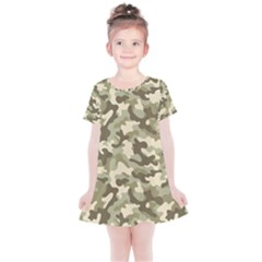 Camouflage 03 Kids  Simple Cotton Dress by quinncafe82