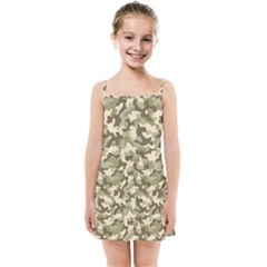 Camouflage 03 Kids Summer Sun Dress by quinncafe82