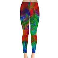 Color Art Bright Decoration Leggings