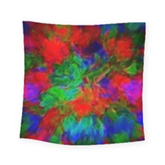 Color Art Bright Decoration Square Tapestry (small) by Nexatart