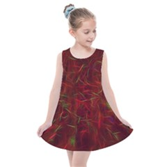 Abstract Pattern Color Shape Kids  Summer Dress by Nexatart