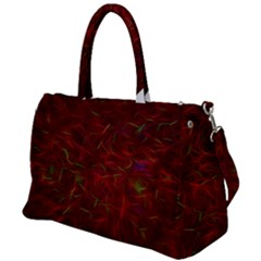 Abstract Pattern Color Shape Duffel Travel Bag