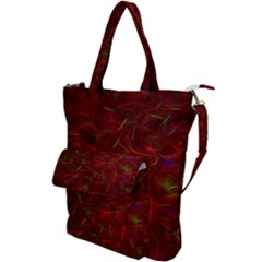 Abstract Pattern Color Shape Shoulder Tote Bag