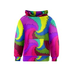 Art Abstract Pattern Color Kids  Pullover Hoodie
