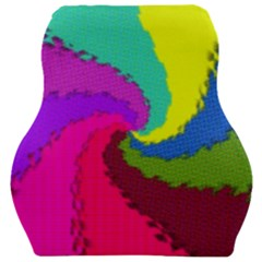 Art Abstract Pattern Color Car Seat Velour Cushion  by Nexatart