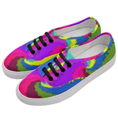 Art Abstract Pattern Color Women s Classic Low Top Sneakers by Nexatart