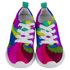 Art Abstract Pattern Color Kids  Lightweight Sports Shoes