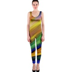 Graffiti Painting Pattern Abstract One Piece Catsuit