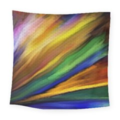 Graffiti Painting Pattern Abstract Square Tapestry (large)