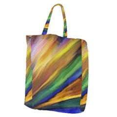 Graffiti Painting Pattern Abstract Giant Grocery Tote