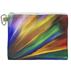 Graffiti Painting Pattern Abstract Canvas Cosmetic Bag (xxl) by Nexatart