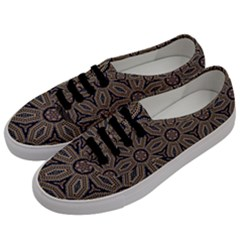 Pattern Decoration Abstract Men s Classic Low Top Sneakers by Nexatart