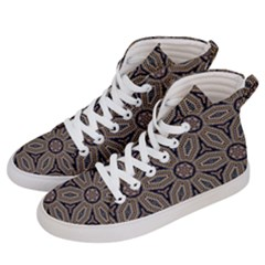 Pattern Decoration Abstract Men s Hi Top Skate Sneakers by Nexatart