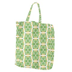 Pattern Abstract Decoration Flower Giant Grocery Tote