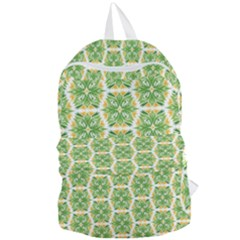 Pattern Abstract Decoration Flower Foldable Lightweight Backpack