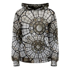 Pattern Abstract Structure Art Women s Pullover Hoodie