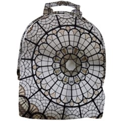 Pattern Abstract Structure Art Mini Full Print Backpack